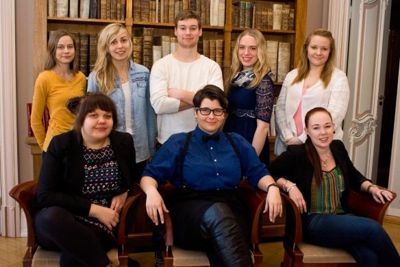 Hanna, Karin, Leo, Elefteria, Heidi Laura, Sofia, Sabina