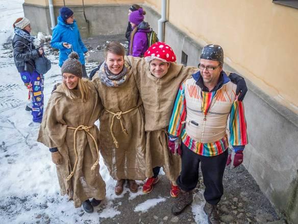 Team Matteus, Markus, Lukas och Torsten